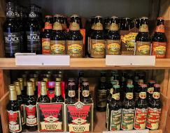 Große Auswahl exotischer Biere